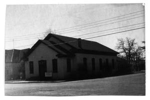 Primary view of object titled 'Emmanuel Baptist Church, Marfa, Texas'.