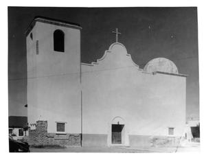 Primary view of object titled 'St. Mary's Catholic Church Building'.