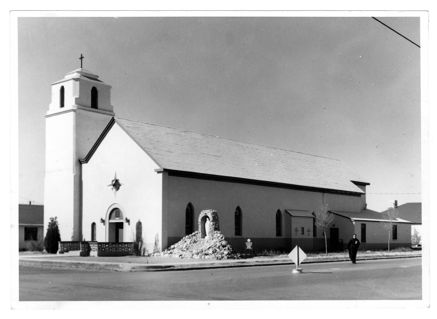 [St. Mary's Catholic Church, Marfa, Texas]                                                                                                      [Sequence #]: 1 of 2