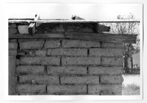 Primary view of object titled '[Brick Wall]'.