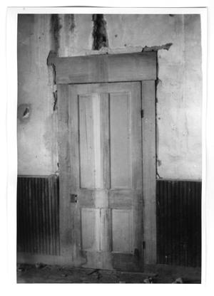 Primary view of object titled '[Wooden Door]'.