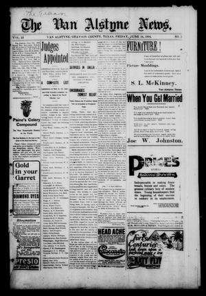 Primary view of object titled 'The Van Alstyne News. (Van Alstyne, Tex.), Vol. 23, No. 5, Ed. 1 Friday, June 24, 1904'.