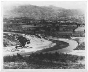 Primary view of object titled '[Rio Grande River Crossing at Candelaria, Texas]'.