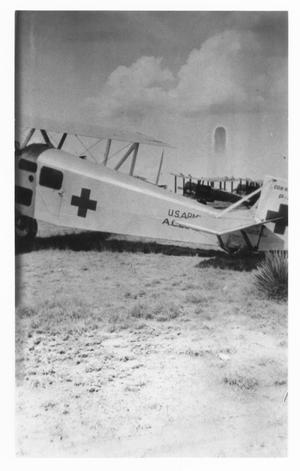 Primary view of object titled '[U. S. Army Medical Plane]'.