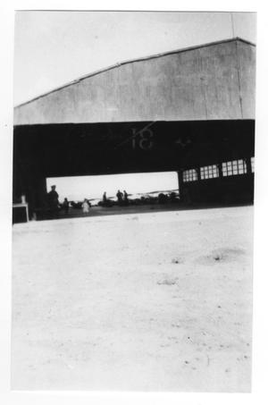 Primary view of object titled '[Aircraft Hangar]'.