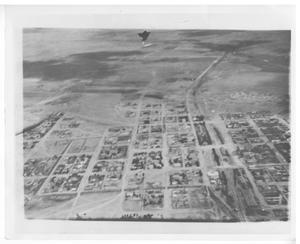Primary view of object titled '[Aerial Photograph of Marfa]'.