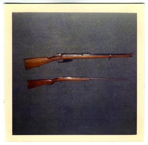 Primary view of object titled '[Rifles]'.