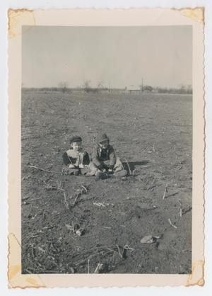 [Photograph of Cynthia and Robert Lee Daniel Playing]