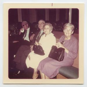 [Photograph of Elderly Members of Murphy Baptist Church]