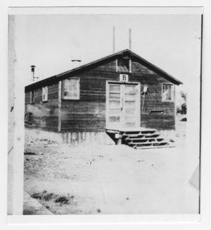 Primary view of object titled 'Old Army Barrack at Fort D.A. Russell'.