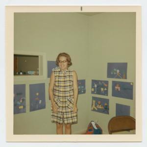 [Photograph of Celia Teague at Murphy Baptist V.B.S.]