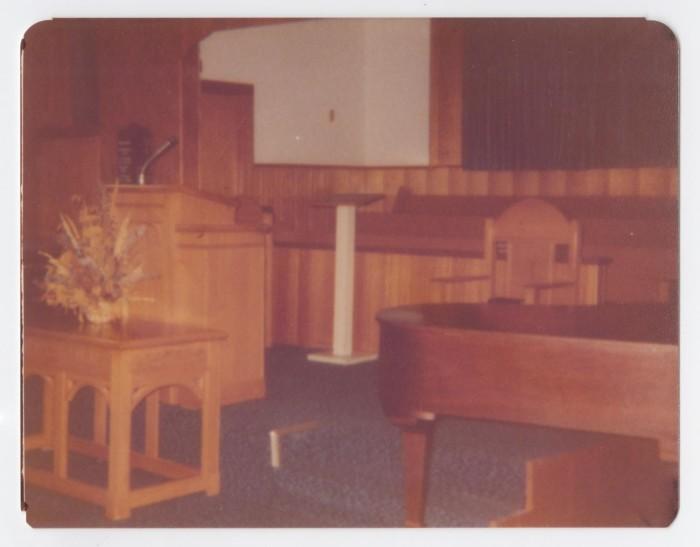 Sensational Photograph Of Murphy Baptist Church Pulpit Furniture The Machost Co Dining Chair Design Ideas Machostcouk