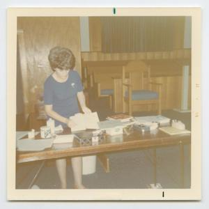 [Photograph of Ruby Noel at Collin County Librarian Meeting]