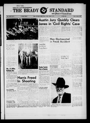 Primary view of object titled 'The Brady Standard and Heart O' Texas News (Brady, Tex.), Vol. 49, No. 43, Ed. 1 Friday, August 8, 1958'.