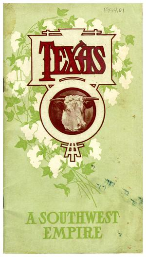 Primary view of object titled 'Texas, A Southwest Empire'.