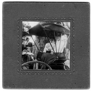 Primary view of object titled 'Ben Avant and Two Women in a Carriage'.