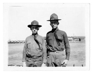 Primary view of object titled '[Two Soldiers]'.