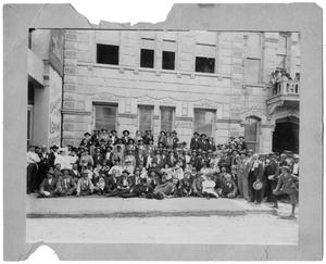 Primary view of object titled 'Texas Sheriff's Association Convention, 1903'.