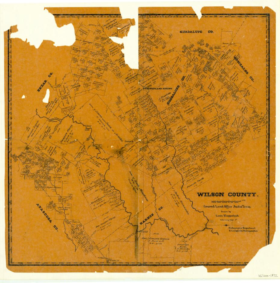 Seguin Texas Map >> Wilson County - The Portal to Texas History