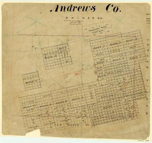 Primary view of object titled 'Andrews County'.