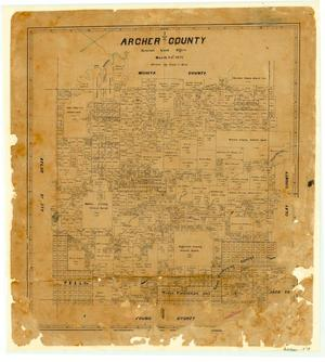 Primary view of object titled 'Archer County'.