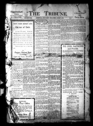 The Tribune. (Stephenville, Tex.), Vol. 18, No. 2, Ed. 1 Friday, January 14, 1910