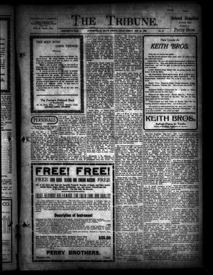 The Tribune. (Stephenville, Tex.), Vol. 18, No. 37, Ed. 1 Friday, September 16, 1910