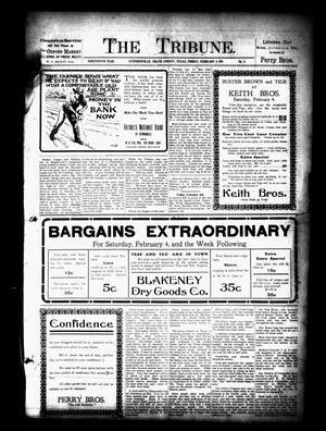 The Tribune. (Stephenville, Tex.), Vol. 19, No. 5, Ed. 1 Friday, February 3, 1911