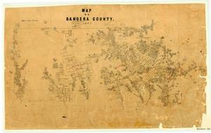 Primary view of object titled 'Bandera County'.