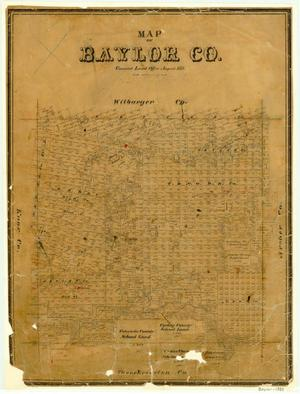 Primary view of object titled 'Baylor County'.