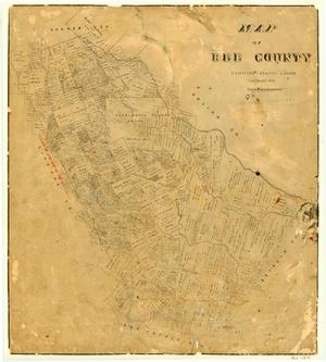 Primary view of object titled 'Map of Bee County'.