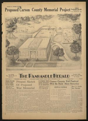 Primary view of object titled 'The Panhandle Herald (Panhandle, Tex.), Vol. 60, No. 9, Ed. 1 Friday, September 20, 1946'.