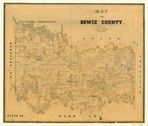 Primary view of object titled 'Bowie County'.