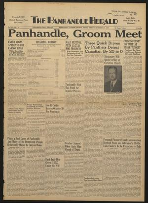Primary view of object titled 'The Panhandle Herald (Panhandle, Tex.), Vol. 61, No. 13, Ed. 1 Friday, October 17, 1947'.