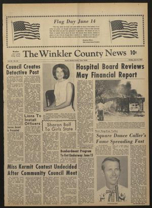 Primary view of object titled 'The Winkler County News (Kermit, Tex.), Vol. 34, No. 24, Ed. 1 Sunday, June 14, 1970'.
