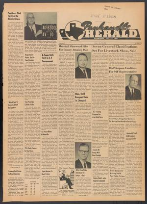 Primary view of object titled 'Panhandle Herald (Panhandle, Tex.), Vol. 77, No. 29, Ed. 1 Thursday, January 30, 1964'.