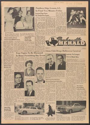 Primary view of object titled 'Panhandle Herald (Panhandle, Tex.), Vol. 77, No. 12, Ed. 1 Thursday, October 3, 1963'.