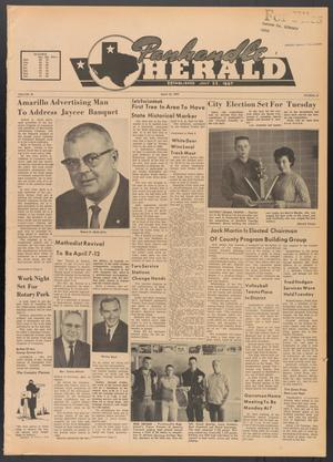 Primary view of object titled 'Panhandle Herald (Panhandle, Tex.), Vol. 76, No. 37, Ed. 1 Thursday, March 28, 1963'.