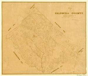 Primary view of object titled 'Caldwell County'.