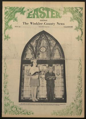 Primary view of object titled 'The Winkler County News (Kermit, Tex.), Vol. 34, No. 1, Ed. 1 Thursday, March 26, 1970'.