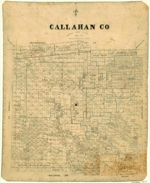 Primary view of object titled 'Callahan County'.
