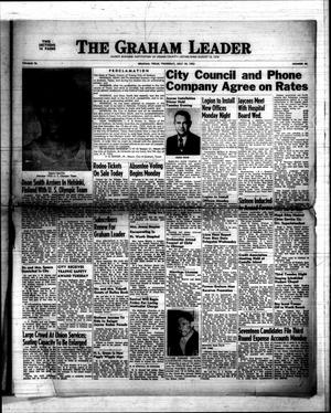 Primary view of object titled 'The Graham Leader (Graham, Tex.), Vol. 76, No. 48, Ed. 1 Thursday, July 10, 1952'.