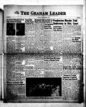 Primary view of object titled 'The Graham Leader (Graham, Tex.), Vol. 77, No. 9, Ed. 1 Thursday, October 9, 1952'.