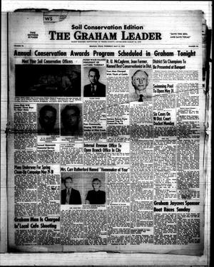 Primary view of object titled 'The Graham Leader (Graham, Tex.), Vol. 76, No. 40, Ed. 1 Thursday, May 15, 1952'.