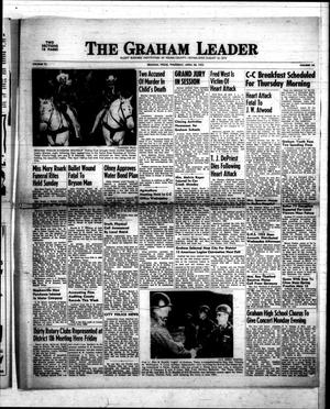Primary view of object titled 'The Graham Leader (Graham, Tex.), Vol. 77, No. 38, Ed. 1 Thursday, April 30, 1953'.