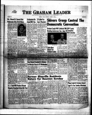Primary view of object titled 'The Graham Leader (Graham, Tex.), Vol. 76, No. 52, Ed. 1 Thursday, August 7, 1952'.