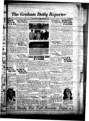 Primary view of object titled 'The Graham Daily Reporter (Graham, Tex.), Vol. 1, No. 6, Ed. 1 Saturday, September 8, 1934'.
