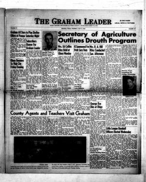 Primary view of object titled 'The Graham Leader (Graham, Tex.), Vol. 77, No. 48, Ed. 1 Thursday, July 9, 1953'.