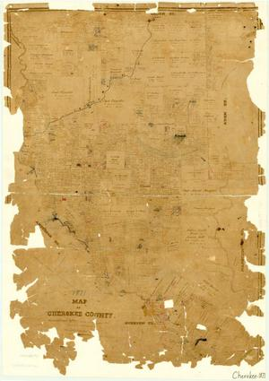 Primary view of object titled 'Cherokee County'.