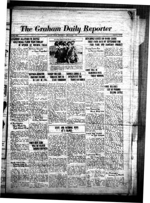 Primary view of object titled 'The Graham Daily Reporter (Graham, Tex.), Vol. 1, No. 3, Ed. 1 Wednesday, September 5, 1934'.